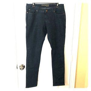 Almost New - Express Dark Denim Skinny Jeans